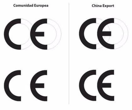 diferencias entre marca ce de china