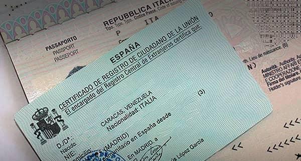 Requisitos para obtener el NIE en España