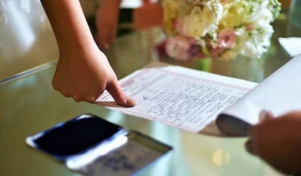 Cómo sacar el certificado de matrimonio en Chile