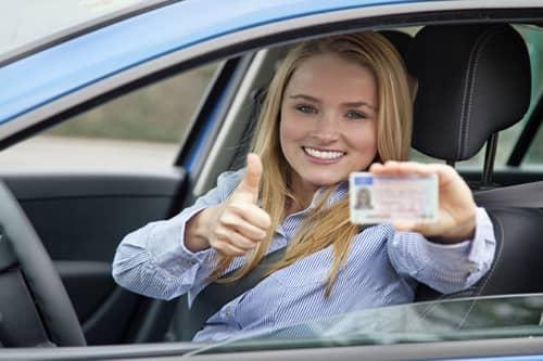 saber los resultados del examen de conducir